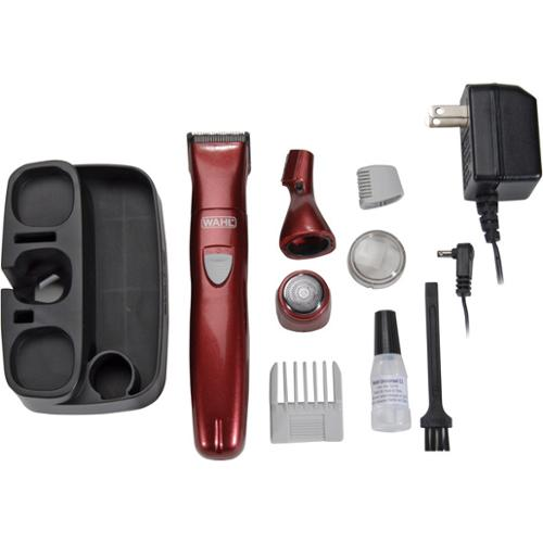 Wahl 9865-100/trimmer/body Kit/3 Detachable Heads (9865100)