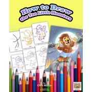 How to Draw The Ten Little Monsters - eBook