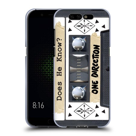 OFFICIAL ONE DIRECTION CASSETTES SOFT GEL CASE FOR XIAOMI