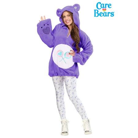 Care Bears Deluxe Share Bear Hoodie Women's Costume