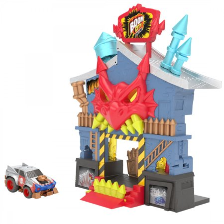 Boom City Racers - Fireworks Factory - 3 in 1 Transforming Playset