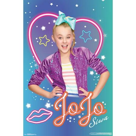 JoJo Siwa Poster - Neon