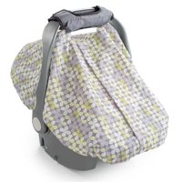 Summer Infant 2-in-1 Carry & Cover Infant Carrier Cover, Canopy for Car Seat, Multi