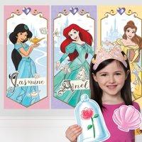 Disney Princess Birthday Party Photo Booth Kit, 19 Pieces