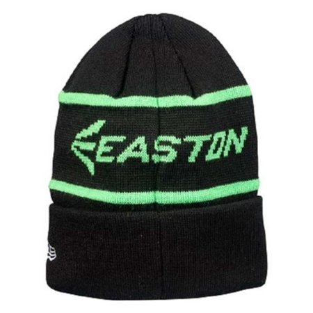 Easton Men's M7 Knit Beanie Baseball/Softball, One Size Charcoal/Grn A167909