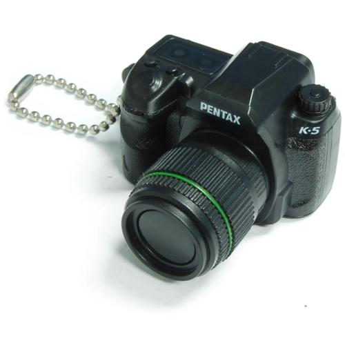 Pentax Capsule Mini Camera Keychain K-5 Black Camera