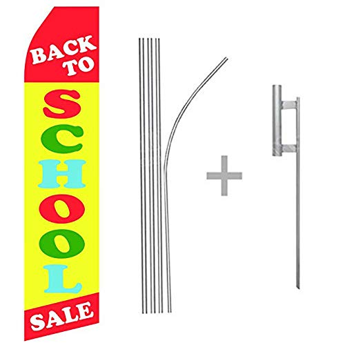 Pack of 15 Hardware not Included Day Care King Swooper Feather Flag Sign