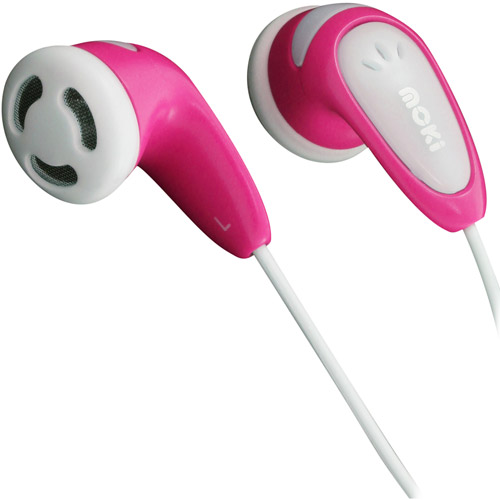 Moki Volume Limited Earphones for Kids, Assorted Colors