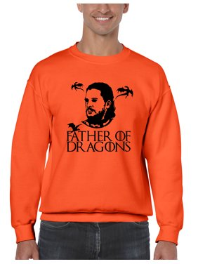 57ade6e3 Product Image Allntrends Men's Sweatshirt Father Of Dragons Cool Gift Hot  Shirt