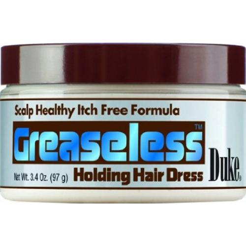 Duke Greaseless Holding Hair Dress, 3.4 oz (Pack of 4)
