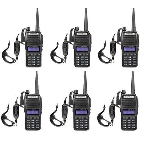 UBesGoo 6 Pack Baofeng UV-82 128CH Dual-Band Ham Walkie Talkies Two-way  Radio
