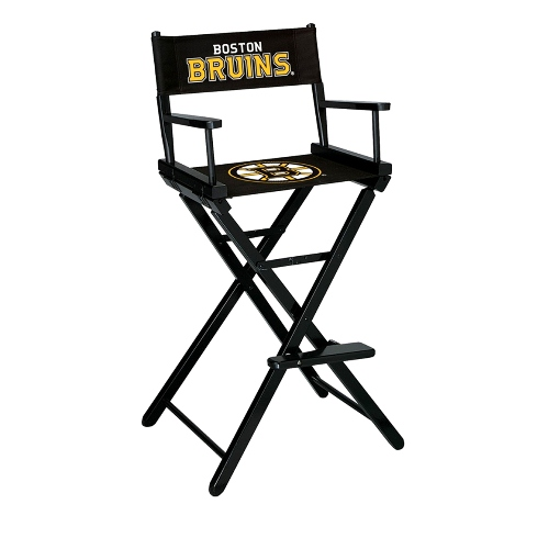 Imperial NHL Bar Height Directors Chair - Boston Bruins