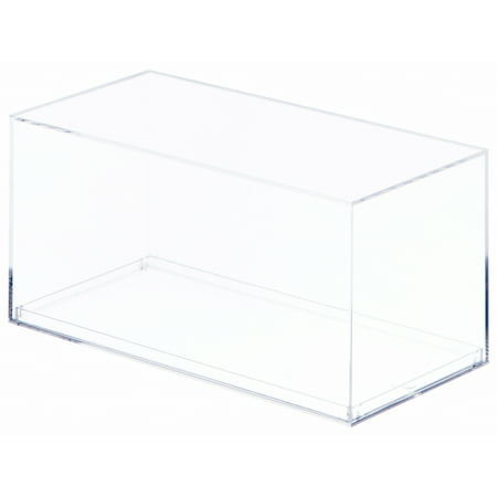 Clear Acrylic Display Case (With No Beveled Edge) For 1:32 Scale Cars - 7.875