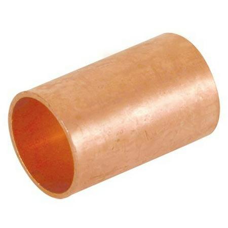 Copper Coupling Less Stop - Ez-Flo 85817 1/2