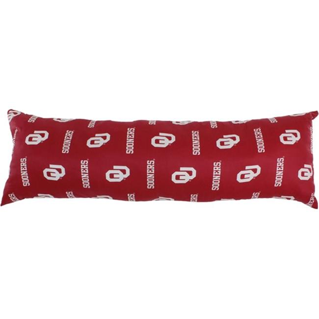 20 x 60 in. Oklahoma Sooners Printed Body Pillow