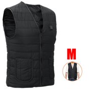 Heated Vest Washable Warm Jacket Cold-proof Heating Clothes with USB Power Pack for Outdoor Campaigns (ALL SIZE)