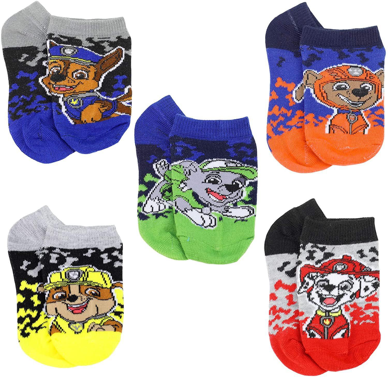 Nickelodeon Paw Patrol 3 Pack slip on Socks size 7-10