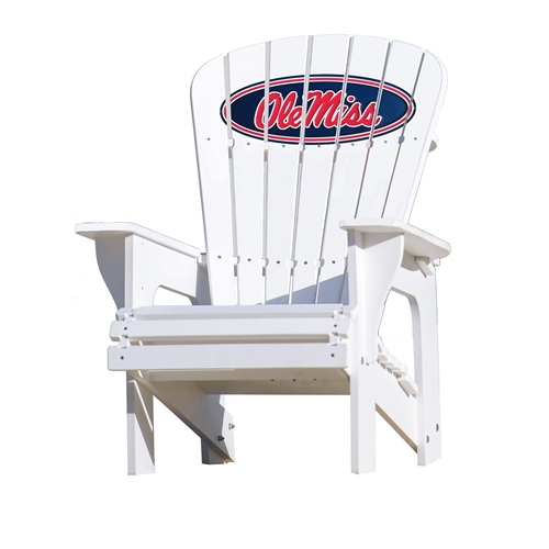 High Quality NCAA Adirondack Chair By Key Largo Adirondack   Ole Miss Rebels