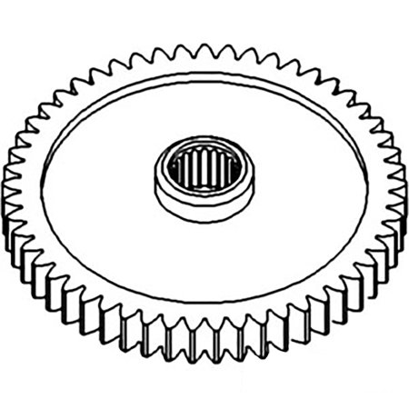 1671706M4 Constant Mesh PTO Gear For Massey Ferguson 230