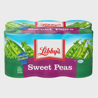 (6 pack) Libby's Sweet Peas, 15 oz cans