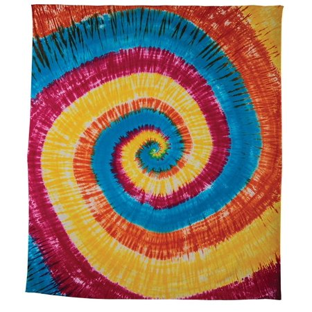 OMA Cotton Tie Dye Tapestry Wall Hanging Dorm Decor Beach Mat Multi Use - LG SIZE - OMA FEDERAL TRADEMARK