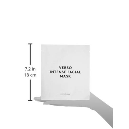 Intense Facial Mask by Verso Skincare for Women - 4 x 0.88 oz Mask - image 3 of 4