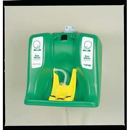 Bradley Eye Wash Stations - Guardian 16 gal. Capacity, Eye Wash Station, Green G1540