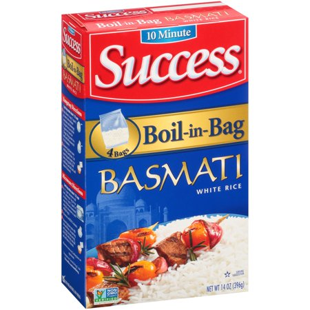 Success ® Boil-in-Bag Basmati White Rice 4 ct.