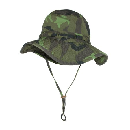 9fd80cf0c DPC Outdoor Design Men's Cotton Camouflage Boonie Hat with Chin Cord ...