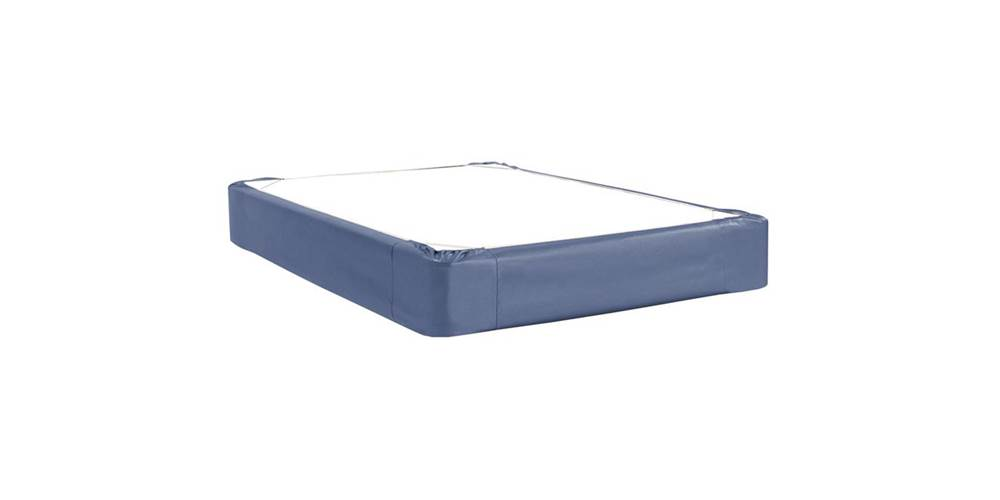 Box Spring Cover in Sapphire (Twin: 75 in. L x 38 in. W x 13.5 in. H (5 lbs.)) by Howard Elliott Collection
