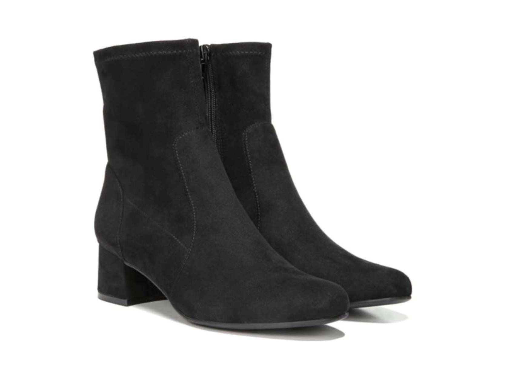 af7292ae0a naturalizer - Womens naturalizer Daley Block-Heel Ankle Boots, Black -  Walmart.com