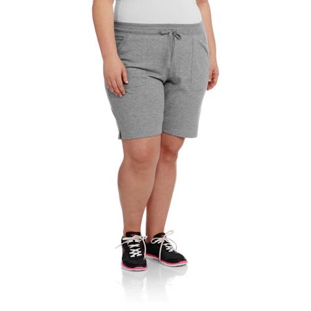 0b2804ecc7a Danskin Now - Women s Plus-Size Active 9 Bermuda Short - Walmart.com