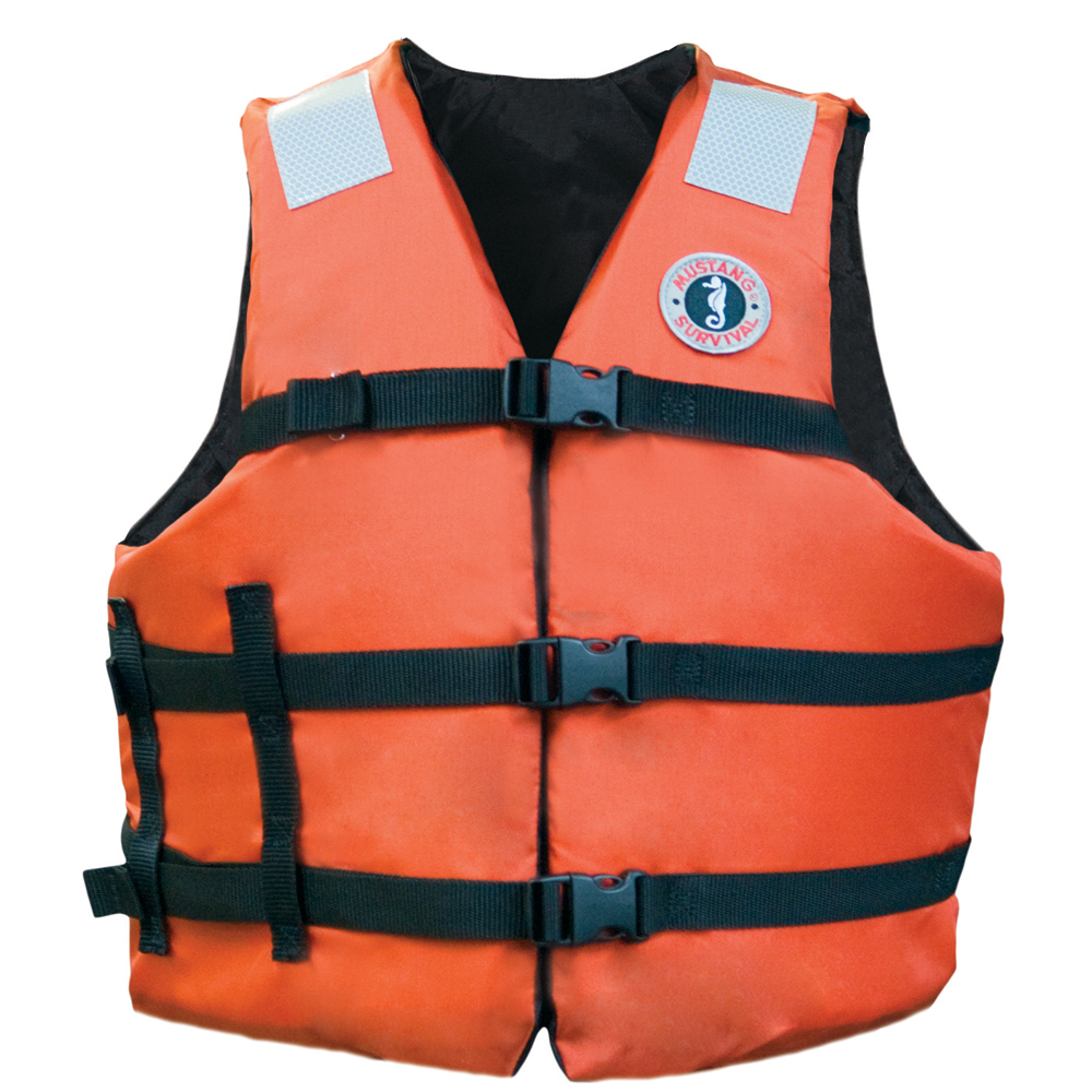 MUSTANG ADULT UNIVERSAL FIT  INDUSTRIAL FLOTATION VEST