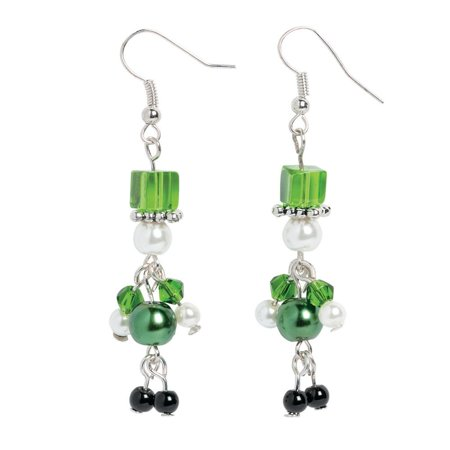 Pearl Leprechaun Earrings Craft Kit