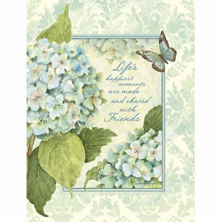 Lang   Blue Hydrangea   Address Book