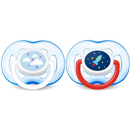 Philips Avent Freeflow Pacifier 18m+, Blue, 2 pack, SCF186/27