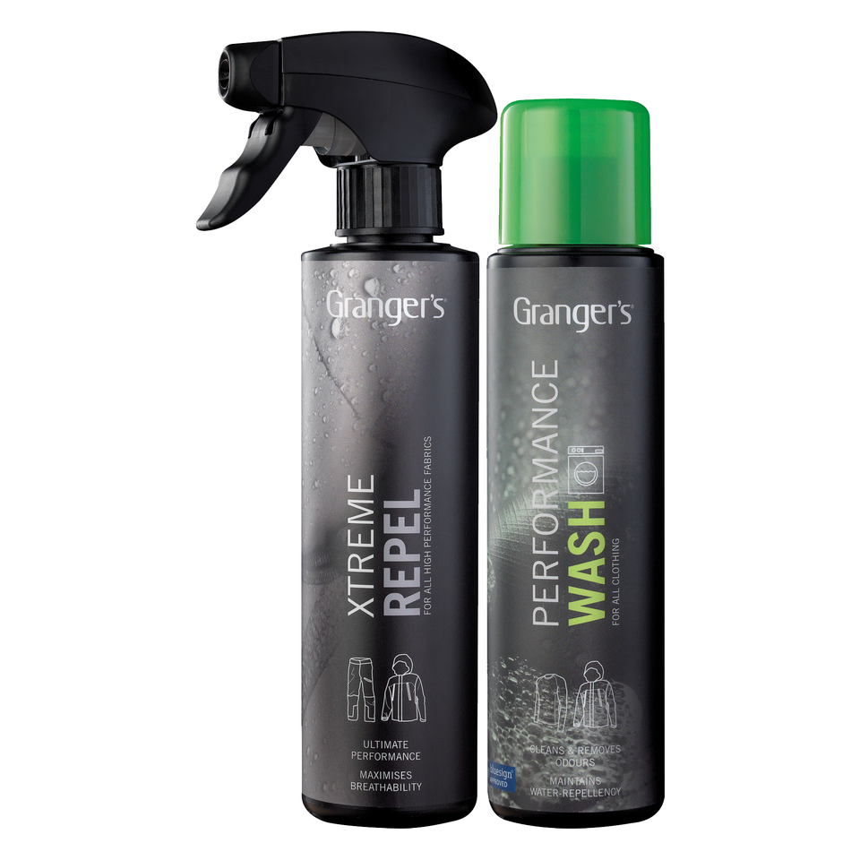 Granger's Performance Wash and Xtreme Repel Waterproofer for Outerwear   Adds NO Scent by Granger'S