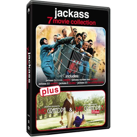 Jackass 7-Movie Collection (Knoxville Jackass)