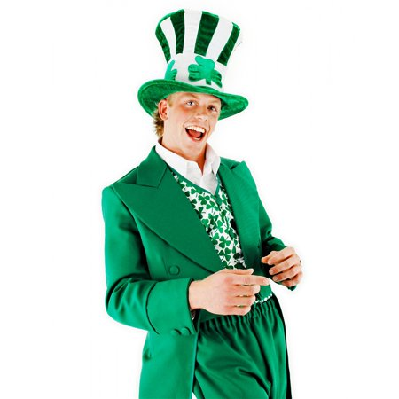Irish Shamrock Uncle Sam Leprechaun Adult Hat Costume Accessory One Size - Shamrock Costume