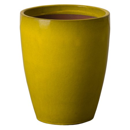 Commercial Planner (Emissary Commercial Indoor Bullet Planter - Mustard Yellow)