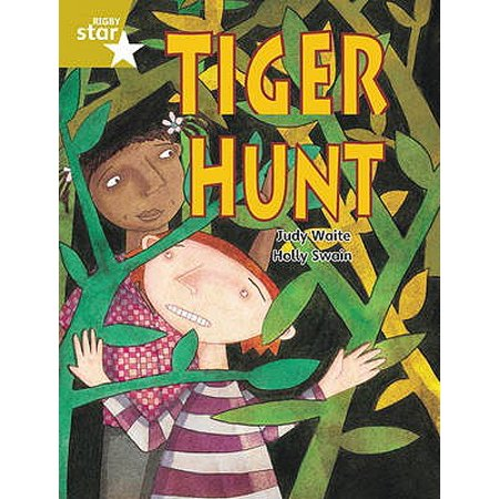 Rigby Star Guided 2 Gold Level: Tiger Hunt Pupil Book (Single) (Gold Star Single)