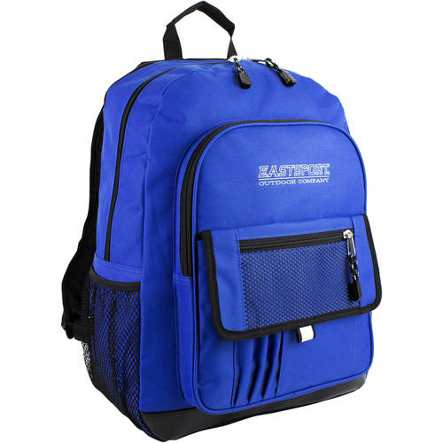 Eastsport Basic Tech Backpack with Adjustable Padded Shoulder Straps