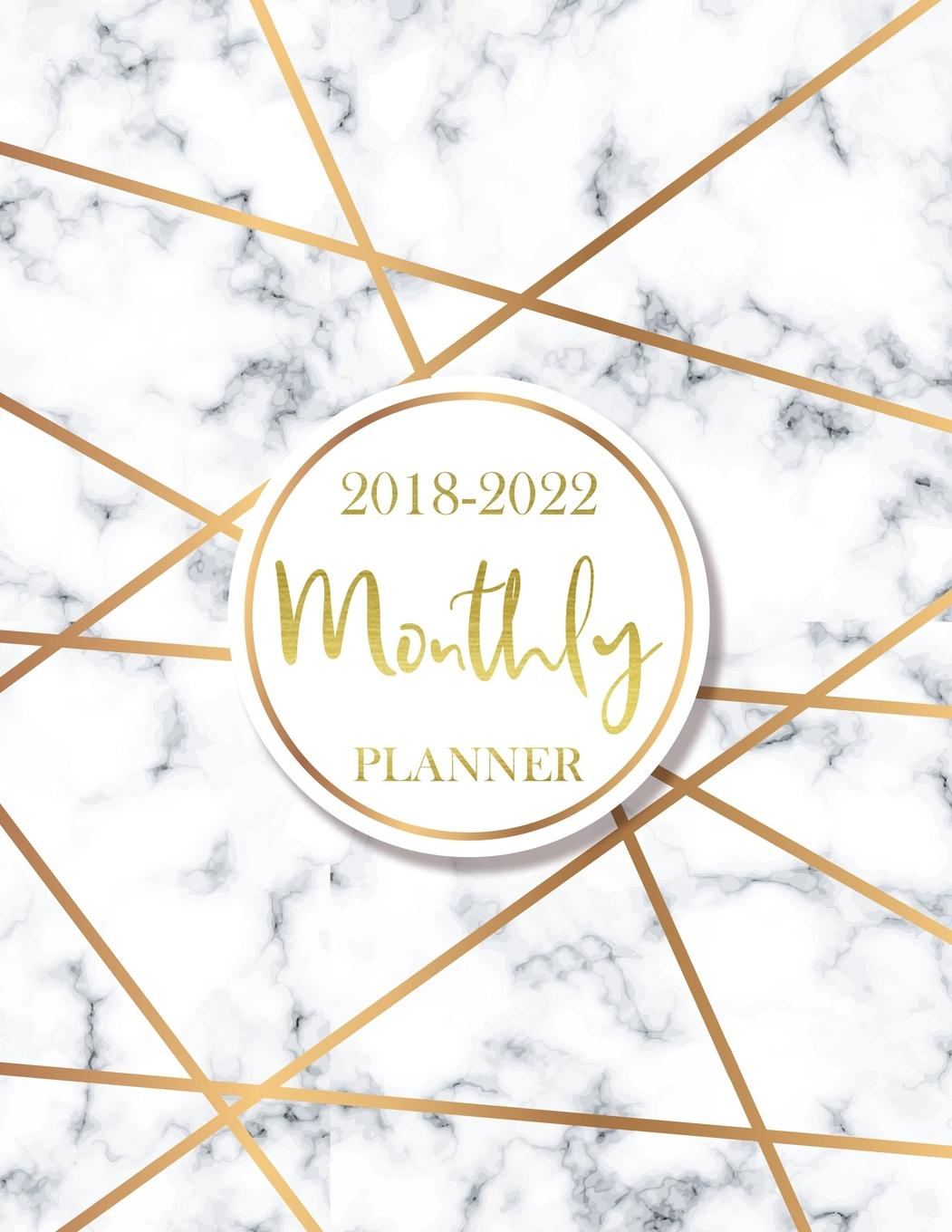 photo relating to Monthly Organizer identify 2018 - 2022 Regular monthly Planner: 60 Weeks Calendar, Regular Program Organizer Routine Planner for the Subsequent 5 A long time, Appointment Laptop computer, Regular monthly