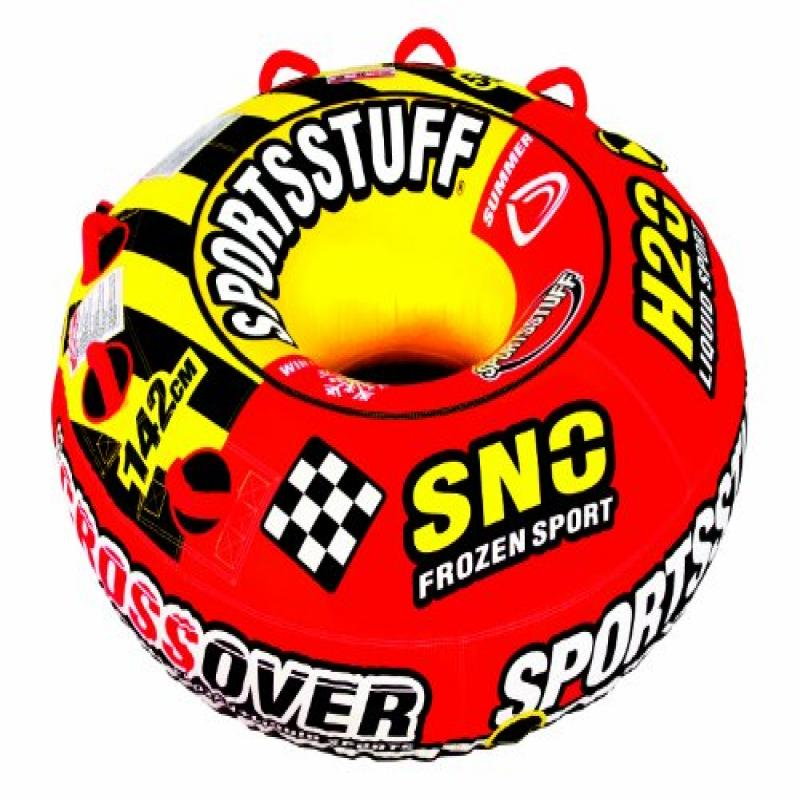 SPORTSSTUFF 30-3522 Super Crossover Snow Sled by