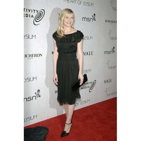 Kirsten Dunst At Arrivals For The Art Of ElysiumS Annual Heaven Gala 9900 Wilshire Blvd Beverly Hills Ca January 16 2010 Photo By Michael GermanaEverett Collection