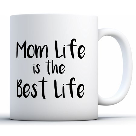 Mother's Day Mugs (Awkward Styles Mom Life Is The Best Life Coffee Mug Mom Life Mug for Women Mother's Day Gifts for Her Funny Mom Travel Mug Momlife Coffee Mug Funny Mom Gifts)