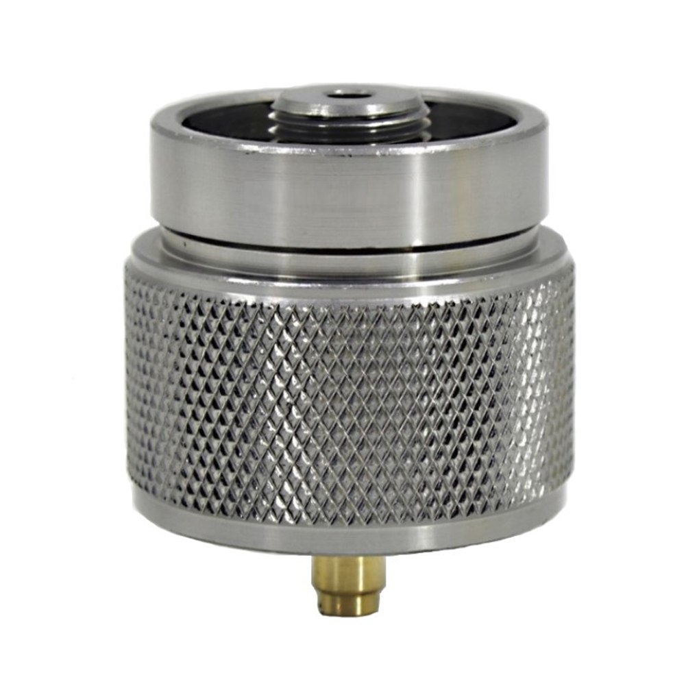 Details about  /1LB Gas Tank Adapter Camping Propane Small Adapter Input for Output Stove BBQ
