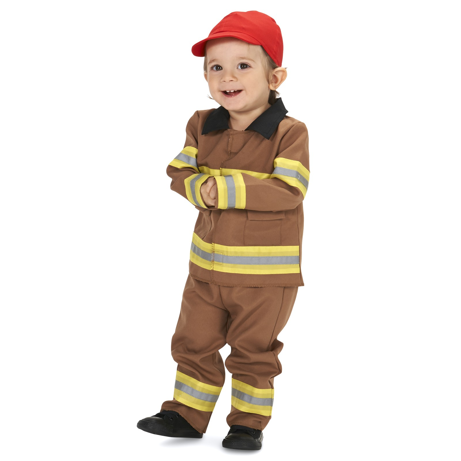 Firefighter with Cap Infant Costume