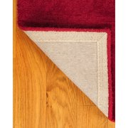 Natural Area Rugs Wool Granada Red Area Rug
