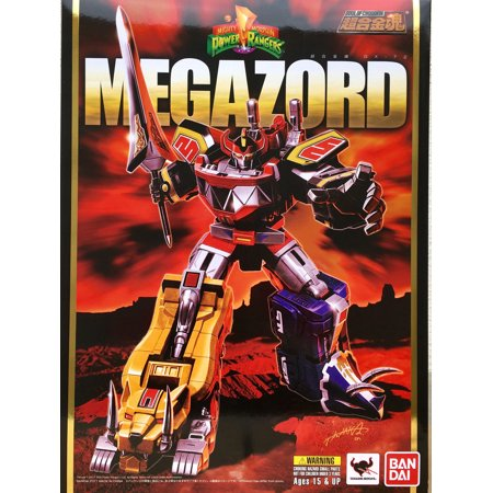 Bandai Tamashii Nations Soul of Chogokin Mighty Morphin Power Rangers Megazord Die-Cast Action - Megazord For Sale
